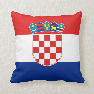 Croatia Flag pillow