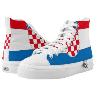 Croatia Flag -.png High-Top Sneakers