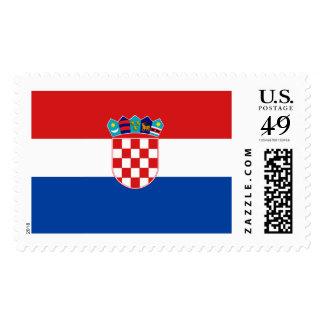 Croatia Flag Postage