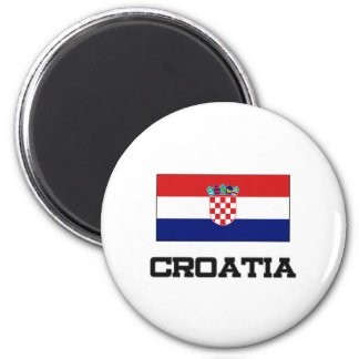 Croatia Flag Refrigerator Magnet