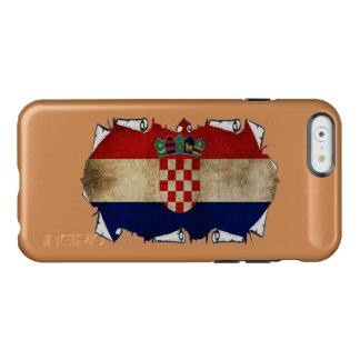 croatia flag ripped incipio feather shine iPhone 6 case