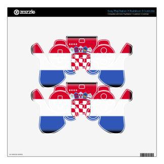Croatia Flag PS3 Controller Decal