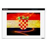 "Croatia Flag Skins For 15"" Laptops"