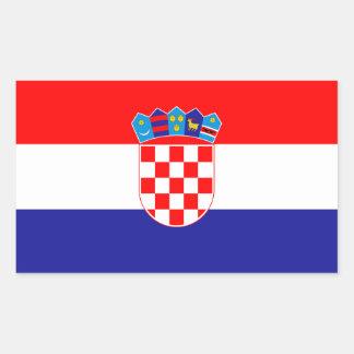 Croatia* Flag Sticker /Hrvatska zastava naljepnica