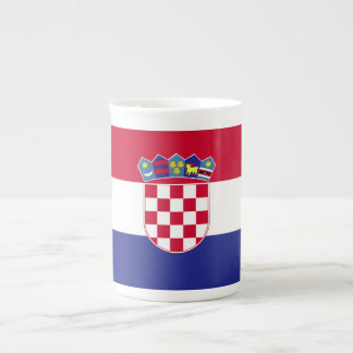 Croatia Flag Tea Cup