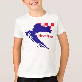 Croatia folder t-shirt HR