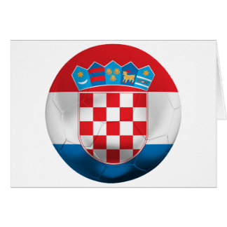 Croatia Football Greeting Card