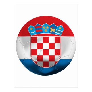 Croatia Football Postcard