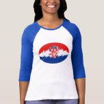 Croatia Gnarly Flag T-Shirt