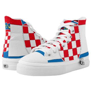 Croatia High-Top Sneakers
