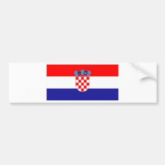 Croatia Hrvatska Bumper Sticker