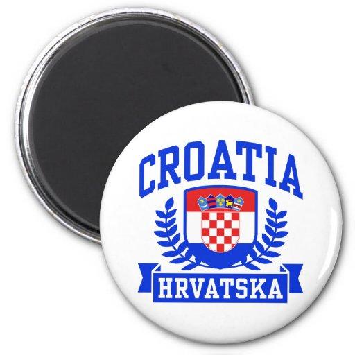 Croatia Hrvatska Fridge Magnet