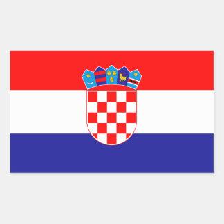 Croatia Hrvatska Rectangular Sticker