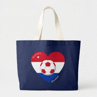 Croatia HRVATSKA Soccer Team Fútbol Croacia 2014 Bolsa Lienzo