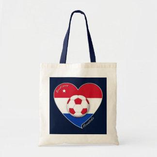 Croatia HRVATSKA Soccer Team Fútbol Croacia 2014 Bolsa De Mano