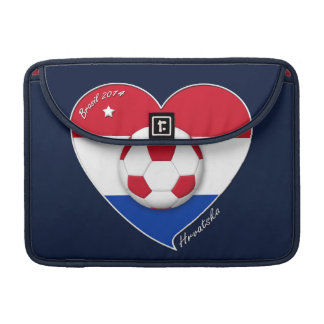 "Croatia ""HRVATSKA"" Soccer Team Fútbol Croacia 2014 Fundas Para Macbook Pro"