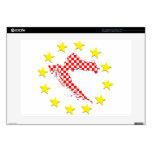 "Croatia in EU Skins For 15"" Laptops"