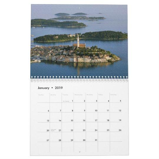 croatia istra calendar texturized