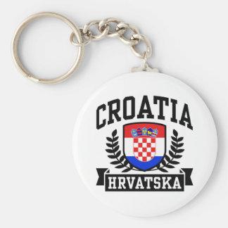 Croatia Keychain