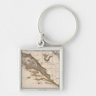 Croatia Key Chains