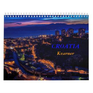 Croatia Kvarner Calendar