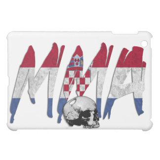 Croatia MMA Skull White iPad Case