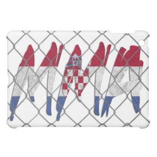 Croatia MMA white iPad case