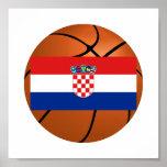 Croatia National Basketball Team Posters
