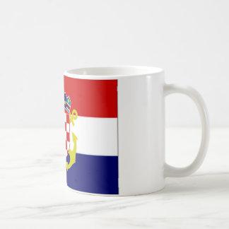 Croatia Naval Ensign Flag Coffee Mug