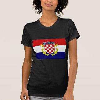 Croatia Naval Ensign Flag T-Shirt