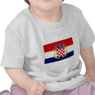Croatia Naval Ensign Flag Shirts