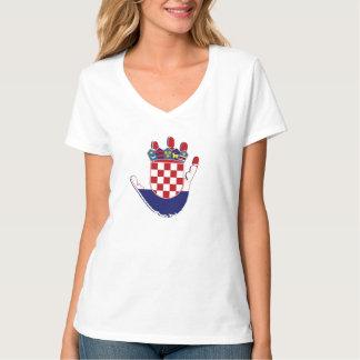 Croatia On The Palm Of My Hand T-Shirt