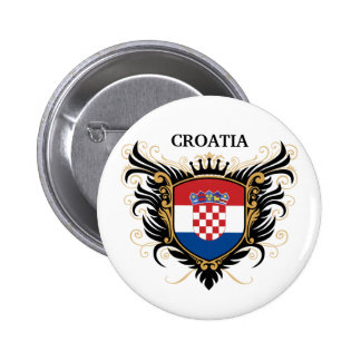 Croatia [personalize] 2 inch round button