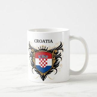 Croatia [personalize] classic white coffee mug