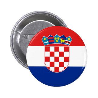 croatia pinback button