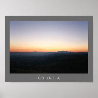 Croatia poster
