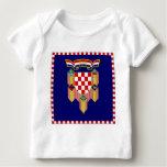 Croatia President Flag Baby T-Shirt