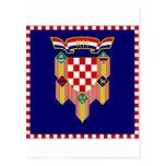 Croatia President Flag Postcard