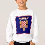 Croatia President Flag Sweatshirt