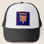 Croatia President Flag Trucker Hat
