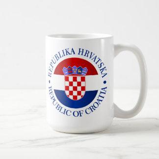 Croatia (rd) coffee mug