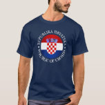 Croatia (rd) T-Shirt