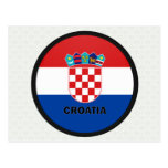 Croatia Roundel quality Flag Post Cards