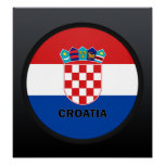 Croatia Roundel quality Flag Posters