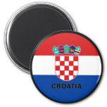 Croatia Roundel quality Flag Refrigerator Magnet