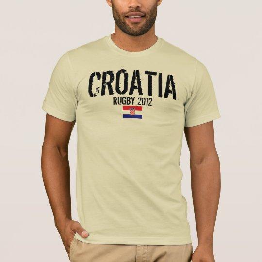 Croatia - Rugby T-Shirt