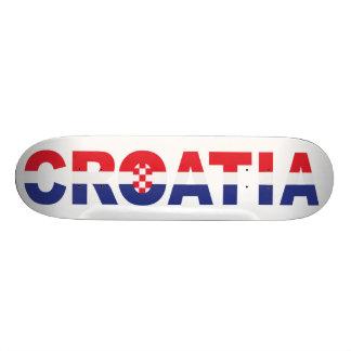Croatia skateboard Sahovnica Hrvatska Croatia