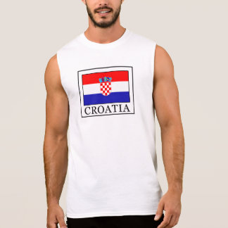 Croatia Sleeveless Shirt