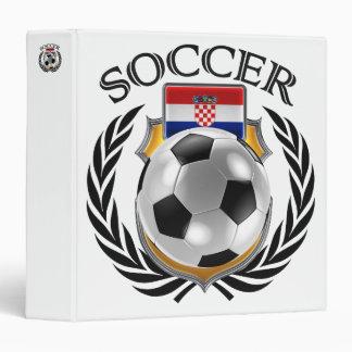 Croatia Soccer 2016 Fan Gear 3 Ring Binder