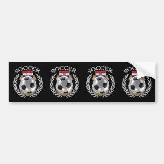 Croatia Soccer 2016 Fan Gear Bumper Sticker